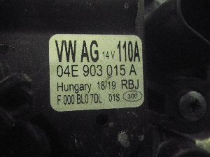 ALTERNATORE VW POLO 14>