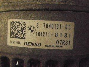 ALTERNATORE MINI F56 15> 1.5 TB 100KW